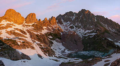 Gore Range Photograph - Eagles Nest Wilderness Sunrise by Aaron Spong