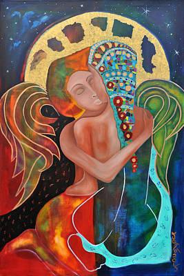 Eangels Kiss Original by Jeanett Rotter