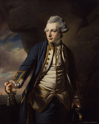 Jervis Painting - Earl Of St Vincent by Francis Cotes