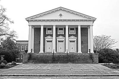 Baptist Drawing - Earle Street Baptist Church by Greg Joens