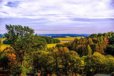Landscape Photograph - Early Fall In New England by Lilia D
