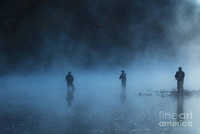 Photograph - Early Morning Fishing by Tamyra Ayles