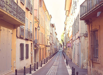 Europe Provence Aix-en-provence Photograph - Early Morning In Aix-en-provence by Rachel Helfand