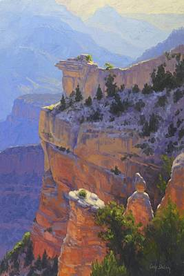 Canyon Painting - Early Morning Light by Cody DeLong