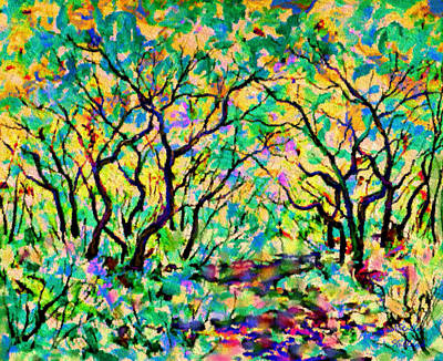 Early Spring Mixed Media - Early Spring by Natalie Holland