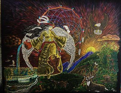Earth Angel Sun Rise Original by Emily Kolar
