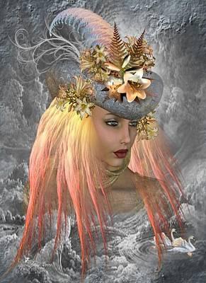 Earth Goddess Print by Ali Oppy