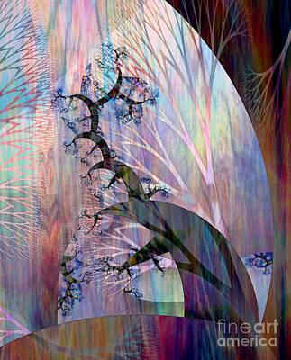 Gaia Digital Art - Earth Song 4 by Helene Kippert