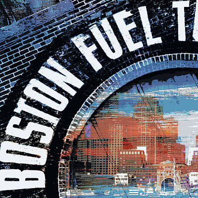 East Boston Print by Brandi Fitzgerald