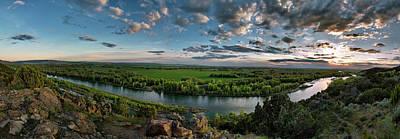 Broad Photograph - East Idaho View by Leland D Howard