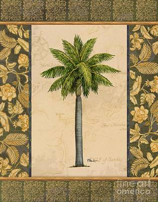 Palmettos Painting - East Indies Palm II by Paul Brent