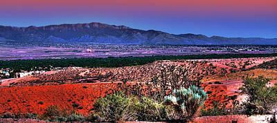 Albuquerque Photograph - East Of Albuquerque by David Patterson