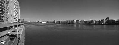 East River Panorama 2 Print by Robert Ullmann