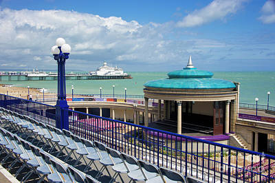 Pier Digital Art - Eastbourne Art Deco Bandstand by Donald Davis