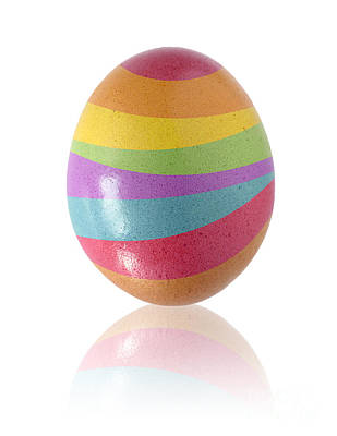 Easter Egg Print by Carlos Caetano