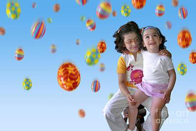 Laugh Photograph - Easter Rain by Carlos Caetano
