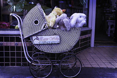 Storefront Photograph - Easter Wishes  by Garry Gay