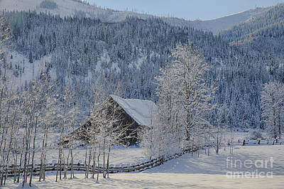 Easterday Ranch 5 Print by Idaho Scenic Images Linda Lantzy