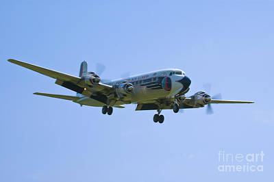 Eastern Airlines Dc-6 Print by Tim Mulina