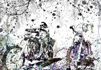 Jack Nicholson Mixed Media - Easy Rider by Dante Blacksmith