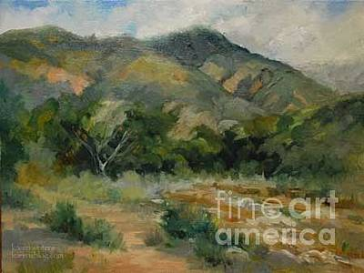Eaton Canyon Painting Altadena California Original by Karen Winters