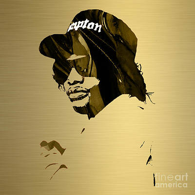 Musicians Mixed Media - Eazy E Straight Outta Compton by Marvin Blaine