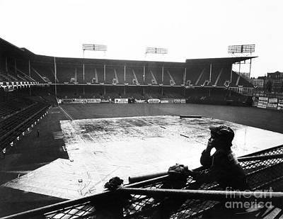 Ebbets Field Photograph - Ebbets Field, C1950 by Granger