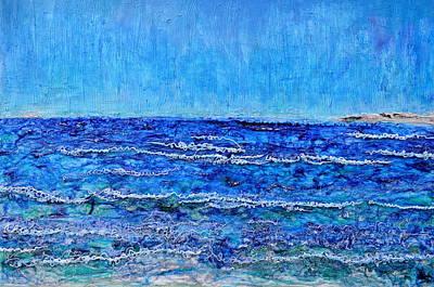 Ebbing Tide Original by Regina Valluzzi