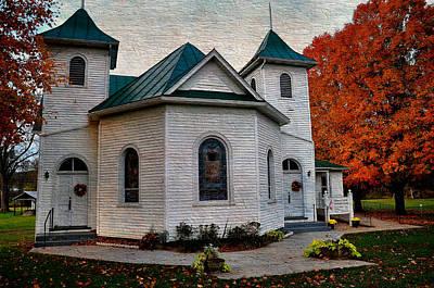 Rockbridge Photograph - Ebenezer United Methodist Church by Todd Hostetter