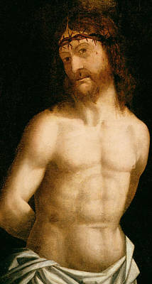 Devotional Painting - Ecce Homo by Andrea Mantegna
