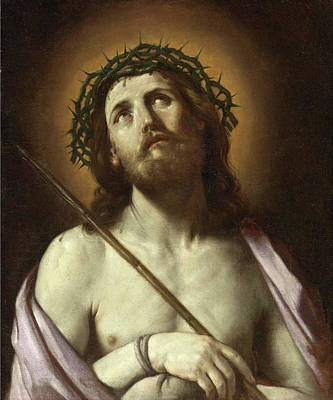 Guido Reni Painting - Ecce Homo by Guido Reni