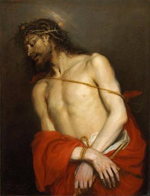 Ecce Homo Painting - Ecce Homo by Mateo Cerezo