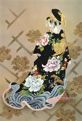 Paint Photograph - Echigo Dojouji by Haruyo Morita