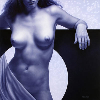 Painting - Eclipse by AD Cook