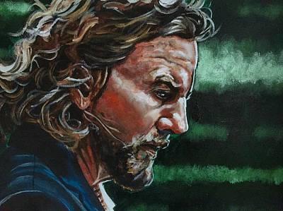 Pearl Jam Painting - Eddie Vedder by Joel Tesch