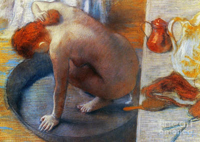 Edgar Degas: The Tub, 1886 Print by Granger