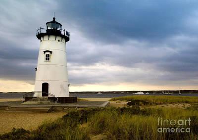 Cape Cod Mass Photograph - Edgartown Lighthouse Cape Cod by Matt Suess