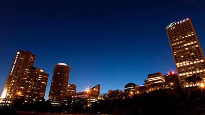 Telus Photograph - Edmonton Blue Hour by Ian MacDonald