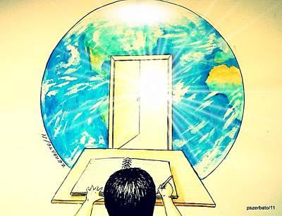 Education Is The Way Original by Paulo Zerbato
