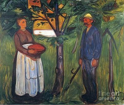 Edvard Munch Print by Fertility