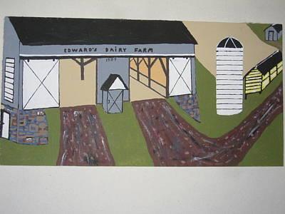By Jeff Koss Painting - Edwards Dairy Farm by Jeffrey Koss