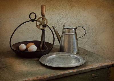 Beaters Photograph - Egg Beaters by Robin-lee Vieira