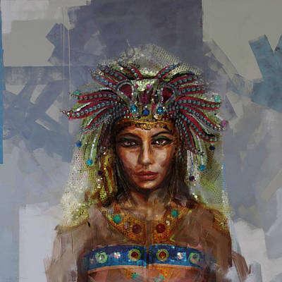 Culture Painting - Egyptian Culture 19 by Mahnoor Shah