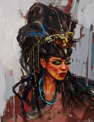 Culture Painting - Egyptian Culture 26 by Maryam Mughal
