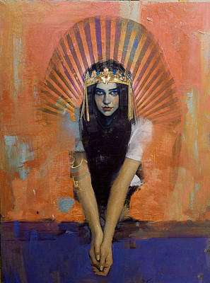 Culture Painting - Egyptian Culture 32 by Maryam Mughal