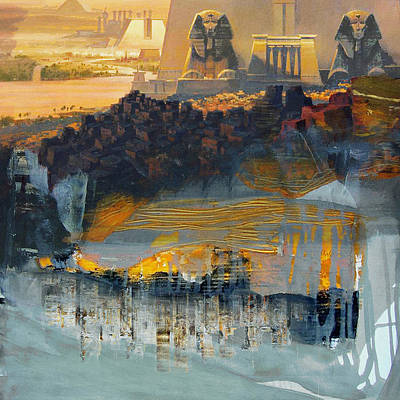 Egyptian Culture 46d Original by Corporate Art Task Force