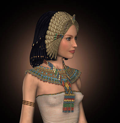 Egyptian Princess Print by David Griffith