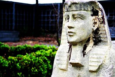 Satue Photograph - Egyptian Statue by Maria Young