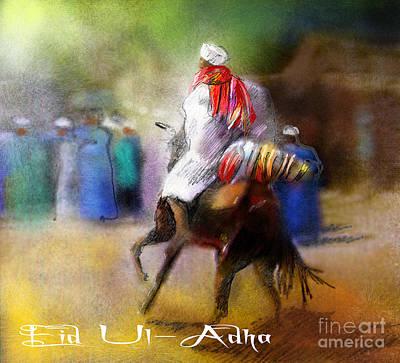 Eid Ul Adha Festivities Print by Miki De Goodaboom