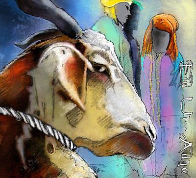 Sacrifice Mixed Media - Eid Ul Adha  by Miki De Goodaboom